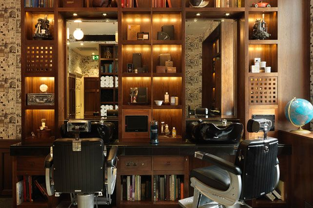 Wet Shave at Alfred Dunhill Bourdon House Barber | 2 Davies Street, Mayfair, London W1K 3DJ  Beautiful
