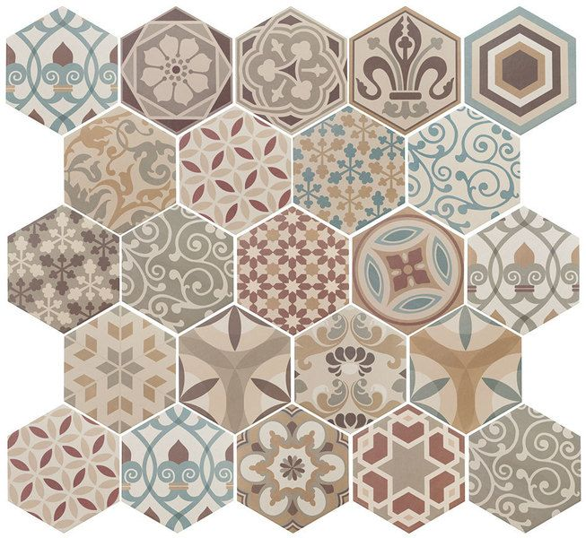 HEXATILE Harmony Colours 17,5x20                                                 ( 21356 )