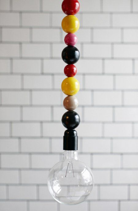 In the right color palette these would make fantastic pendant lights in a task area or other small space