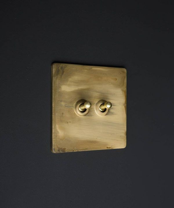 Smoked Gold Switches, Sockets, Dimmers & Toggles | Light