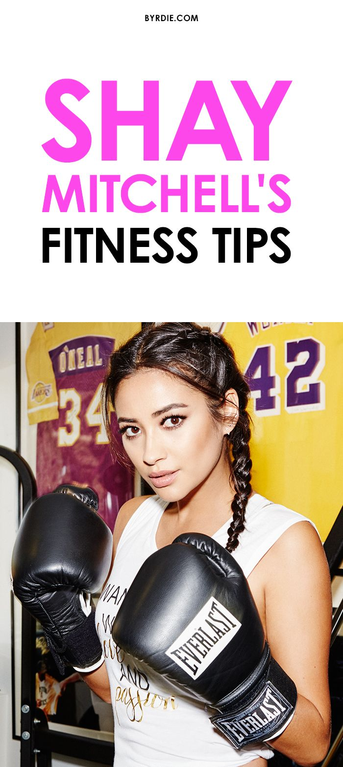 Exclusive! Shay Mitchell shares her busy-girl guide to staying fit and healthy