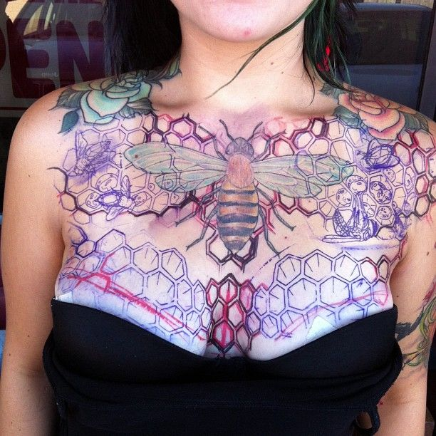 25+ Best Ideas About Women Chest Tattoos On Pinterest