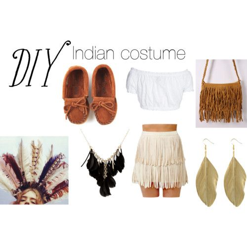 DIY native american Costume Girl | fashion look from October 2012 featuring GERMAN PRINCESS blouses and ...