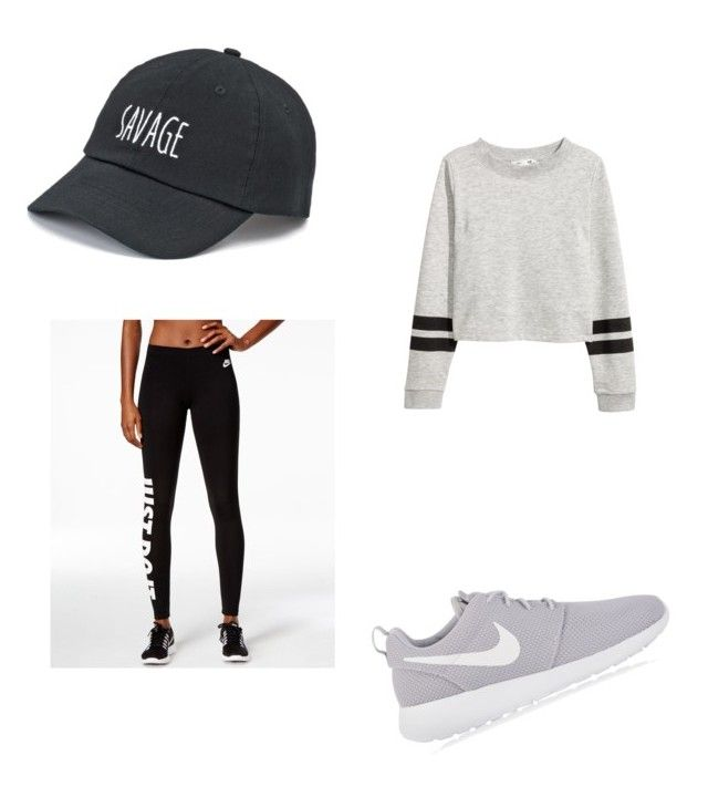 """""""Untitled #10"""" by alexandra-kermanidis on Polyvore featuring NIKE and SO"""