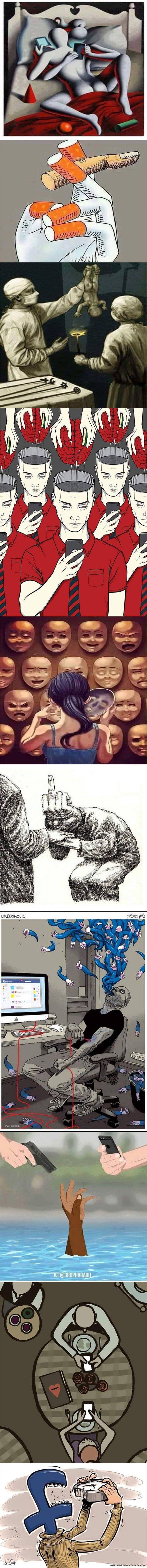 Some modern day society 'sins'