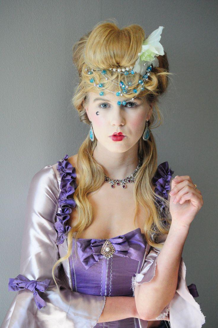 Rococo costume - Luciano Hair and makeup - Nikita@CityVarsity, Cape Town