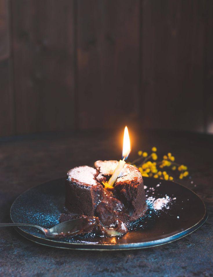 Wir feiern Geburtstag mit Gast Nr. 3: Simone von S-Küche und ihrem Molten Lava Cake – Trunkener Schokokuchen mit flüssigem Kern