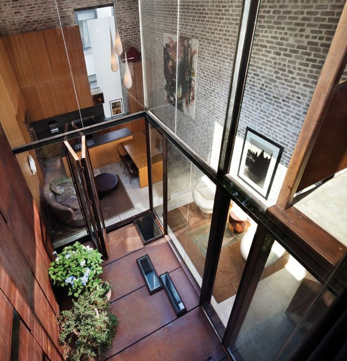 The Cool Hunter - Inverted Warehouse Townhouse - New York