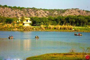 Damdama Lake, The most recommended place near Delhi by http://www.hotellohias.com/ Rock climing, Camel Rides, Hot air Balloonig, Rowing all are the activities which you can enjoy here
