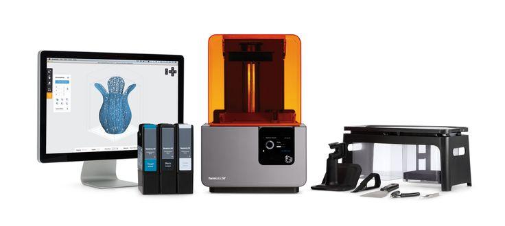 Form 2 3D Printer costs around: $3,500