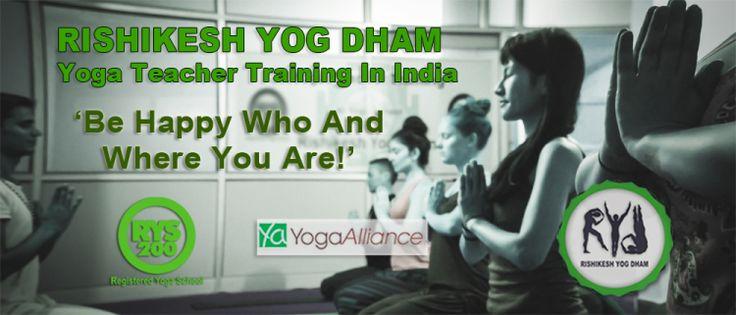Yoga Teacher Training Rishikesh Yog Dham ,India - One Vibration