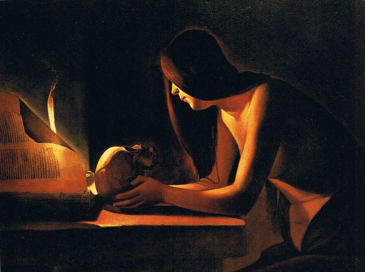 Georges de La Tour - The Penitent Magdalen, c.1630-1632