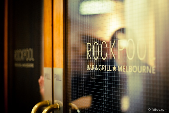 Neil Perry's - Rockpool Bar & Grill. In Southbank, Melbourne.