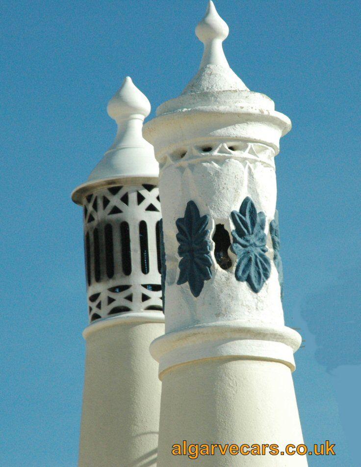 Algarve chimneys - Faro Car Hire | Algarve Car Rental | Faro airport http://www.algarvecars.co.uk