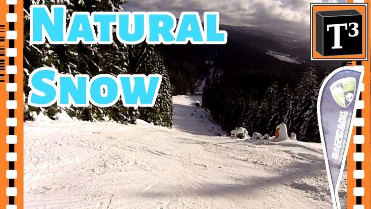 The nice little hidden skiing resort of Schulenberg in the Harz mountains