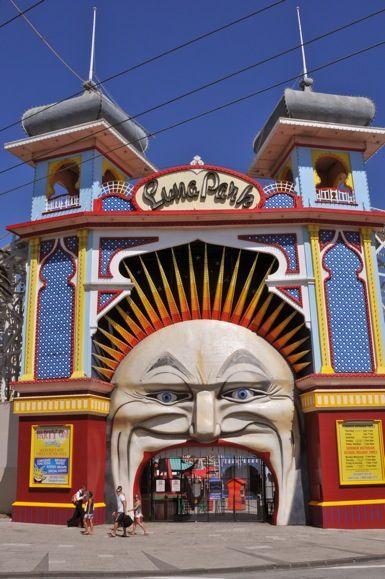 Luna Park, St Kilda, Melbourne