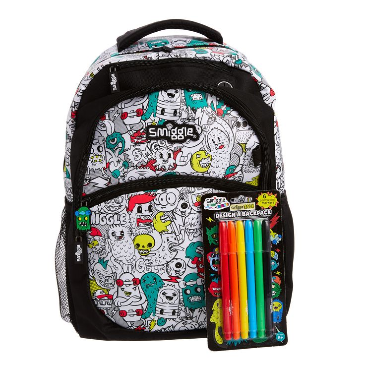 Smiggle Says Diy Backpack Smiggle UK Surin School