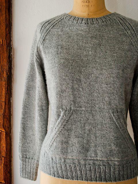 Ravelry: Sweatshirt Sweater pattern by Purl Soho -  pattern free on Ravelry