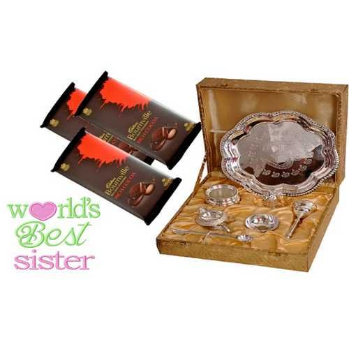 Rakhi Gift Hampers | Send Rakhi Gifts Hamper to India Online>>Rakhi Gift Hampers - Send rakhi gift hampers to India to your brothers online. We have a large collection of Rakhi Gift Hampers including rakhi sweets hampers, rakhi dryfruits hampers, rakhi gifts, rakhi gifts for brothers, rakhi gifts for sisters, and rakhi chocolates hampers. Check out our collection for the perfect pick and send to your brothers online with us.#Rakhi Gifts for Sisters