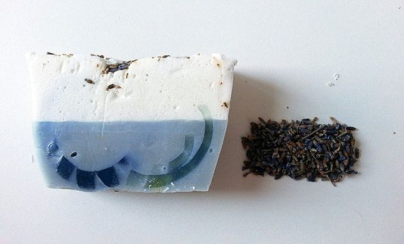 Organic Soap  Lavender Soap  Soap Cake  Oraganic by Bullesdesucre, $6.00