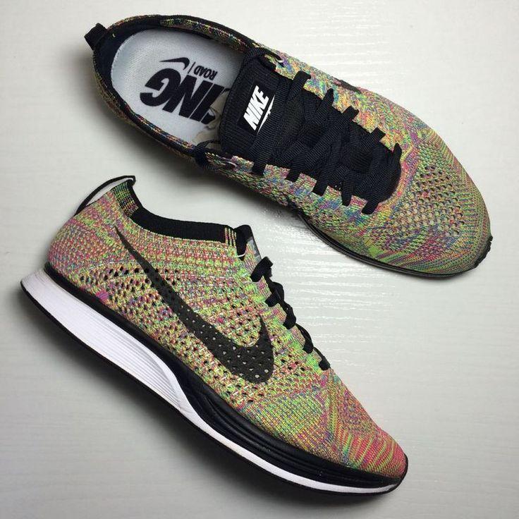 Nike Flyknit Racer Multicolor Pas Cher