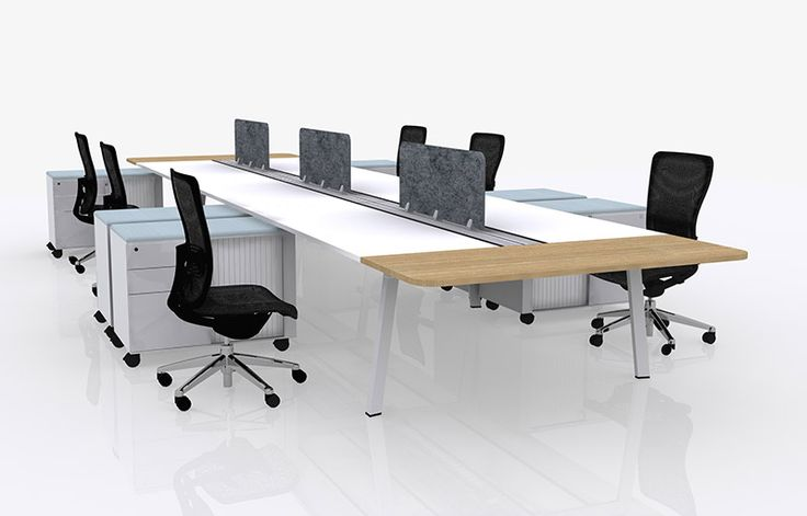 Alpha has been thoughtfully designed to achieve a creative work environment. Strong lines and a sense of structure coupled with a relaxed style, encourages team work and collaboration within the office. #workspace #office #work #space #furniture #work #desk #workstation #custom #variety #team #meeting #commercial #design #interiors #screens
