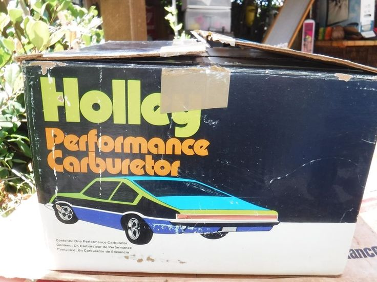 HOLLEY PERFORMANCE PRODUCTS OLD NEW STOCK R-6528-1AAA (650 CFM) K 7 1970 's G.M. #HOLLEY