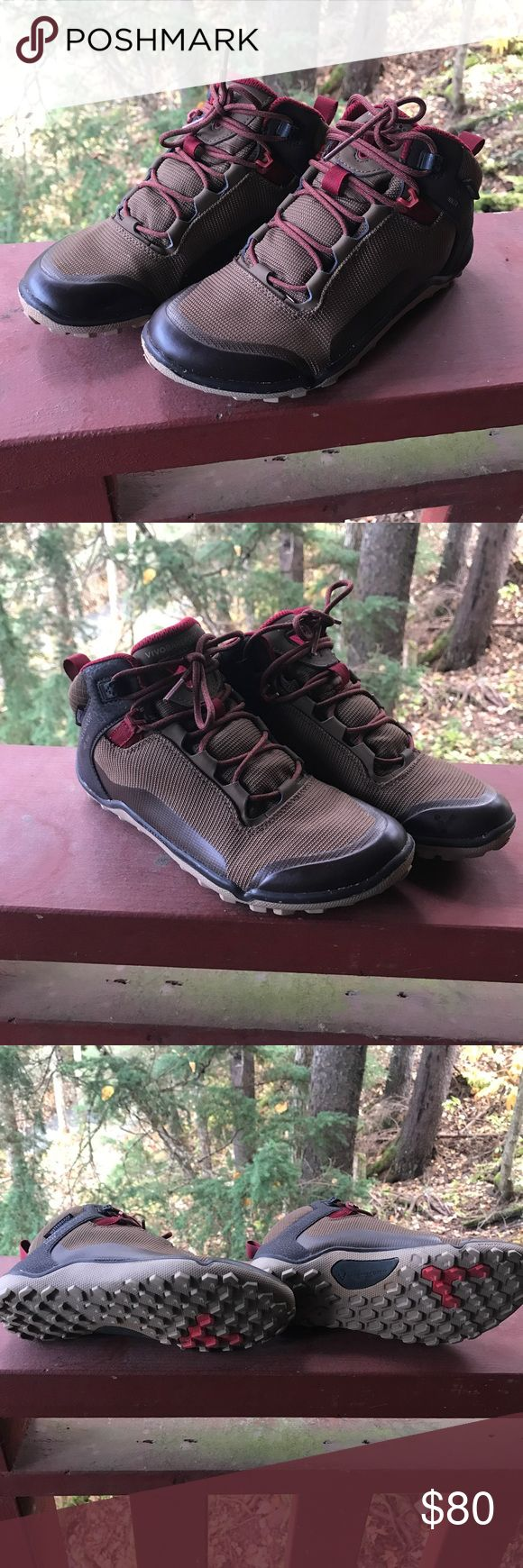 Vivobarefoot Hikers Minimalist style high top hiking boot.  I only wore these a few times, but they're just too small for me.  Definitely for a true size 6 or even 5.5. Vivo barefoot Shoes Athletic Shoes
