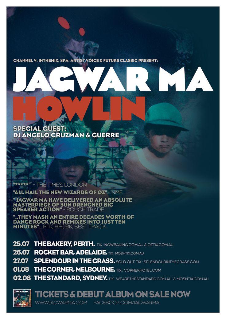 Jagwar Ma with support from Guerre & DJ Angelo Cruzman - Corner Hotel, 1 Aug 2013 - Info/tix: https://corner.ticketscout.com.au/gigs/1486-jagwar-ma