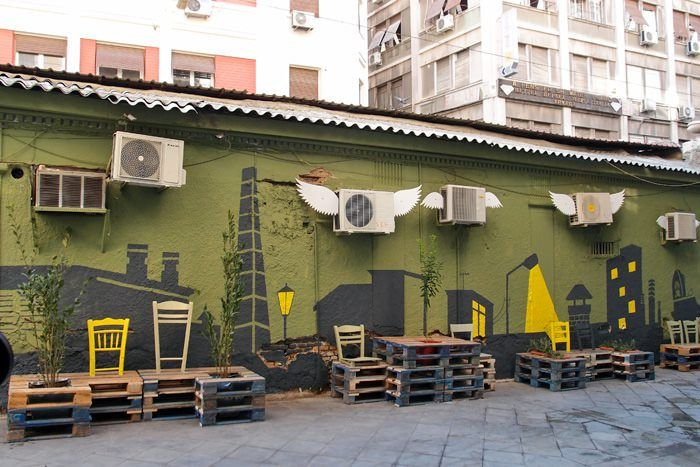 Placemaking / from derelict void space to amazin public place / athens, greece by Atenistas
