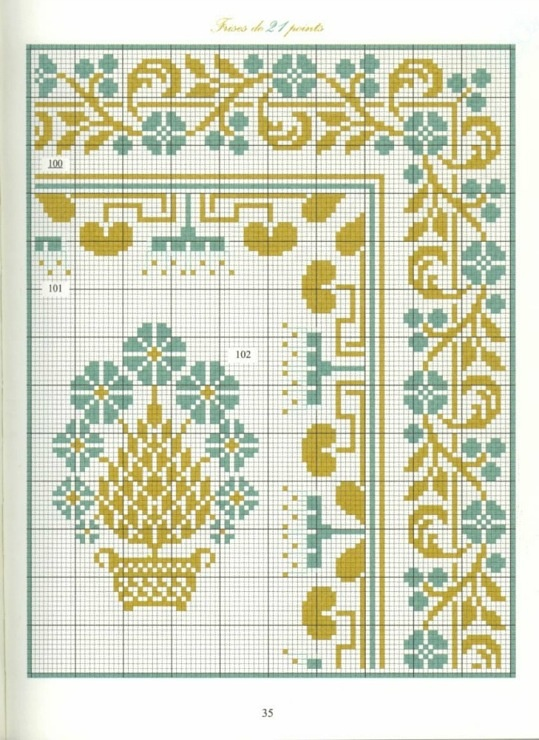 Borders in cross stitch 21