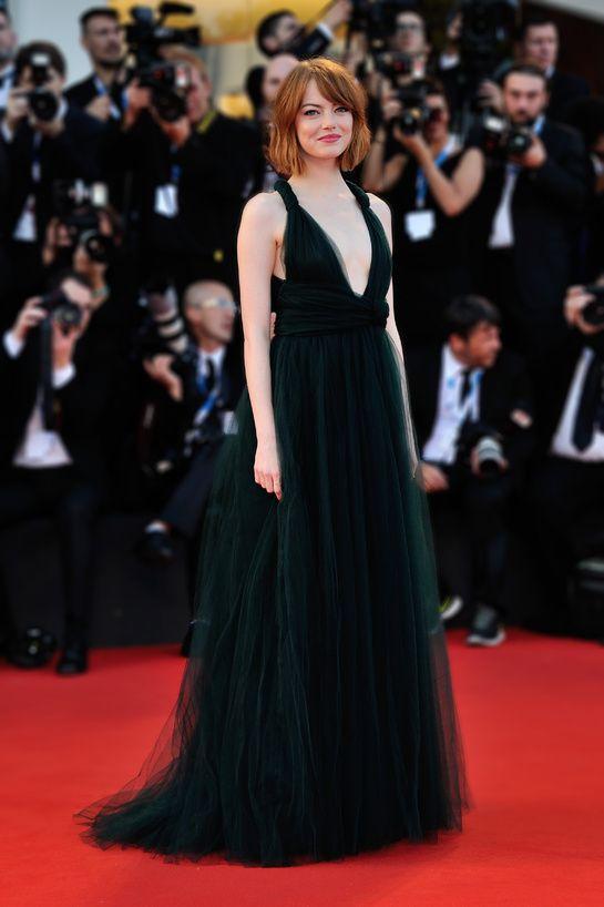 Emma Stone en Valentino haute couture