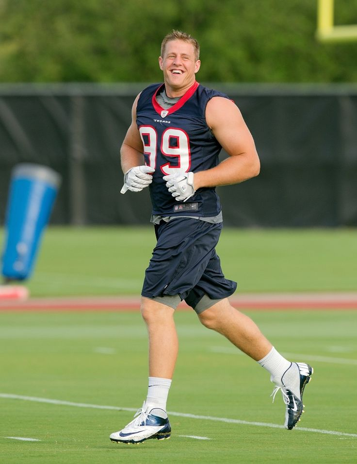 J.J. Watt says devotion to NFL has left him without a girlfriend. By the time he retires I'll be in my late 20s or early 30s so he can marry me haha ;)