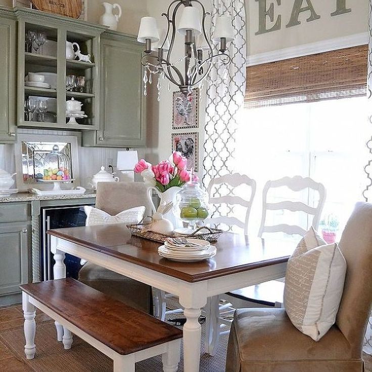 Eat In Kitchen Furniture: Tap Into Your Inner Country Girl With 10 Country Decorating Ideas