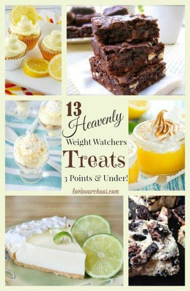 13 Weight Watcher Desserts Under 3 Points