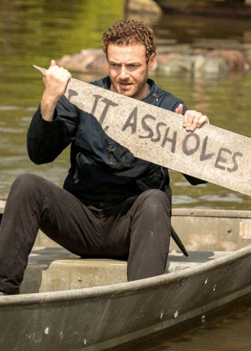 Aaron in The Walking Dead Season 7 Episode 8 | Hearts Still Beating