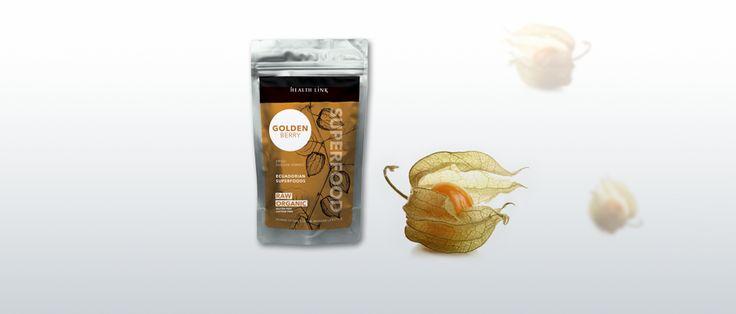 Golden Berry (Physalis, Machovka) BIO RAW 100g - peterns-world.com
