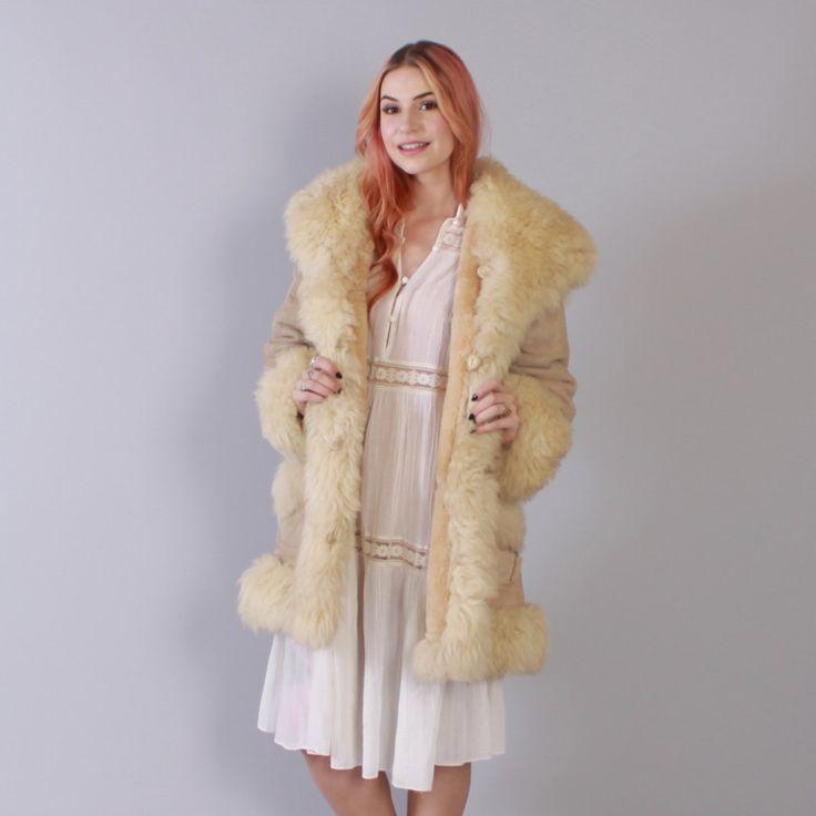 195 best Sheepskin coats images on Pinterest   Sheepskin coat, Fur ...