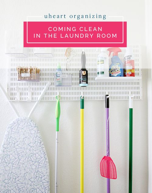 UHeart Organizing: Coming Clean in the Laundry Room | IHeart Organizing | Bloglovin'