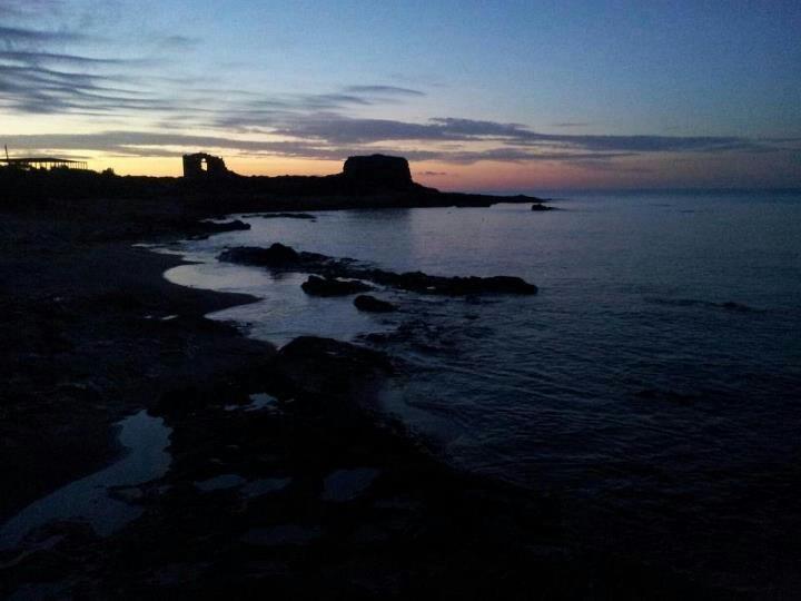 Sunday's dawn across the sea (Sicily)