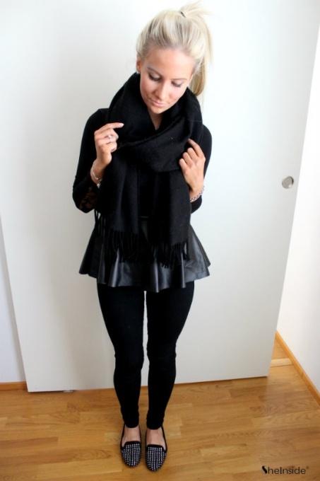 All black - Womens Fashion Clothing at Sheinside.com