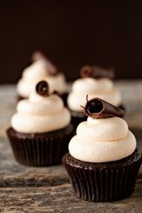 Jamie's Grand Marnier Cupcakes - Three Many Cooks(the recipe is there, just scroll down a little bit)
