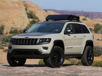 Jeep Grand Cherokee Trail Warrior Concept (WK2) '04.2014