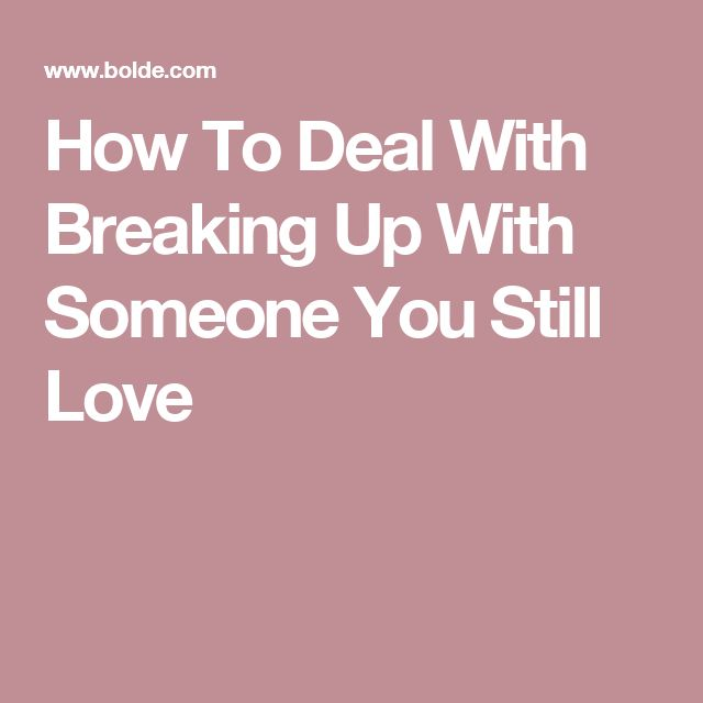 how to deal with bad breakups relationship