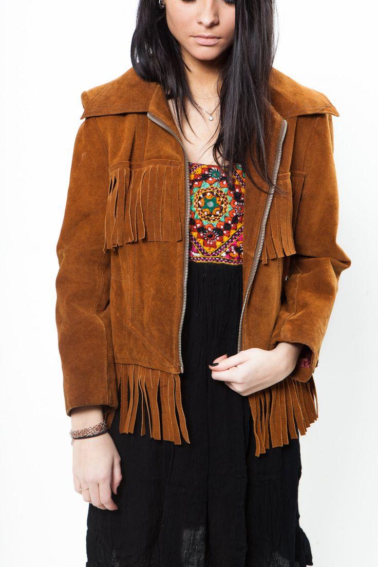Irving vintage sude jacket
