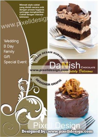 Iklan Makanan Roti Kue Danish Chocolate Iklan Makanan Rumah
