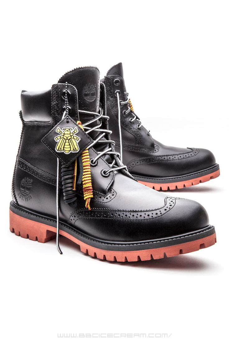 BEE LINE X TIMBERLAND MEN'S BROGUE BLACK - Bee Line x Timberland - Exclusives - Billionaire Boys Club / Icecream