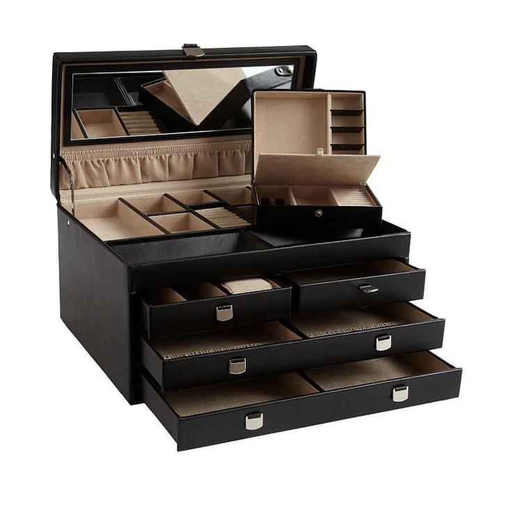 35 best Jewelry Boxes images on Pinterest Jewel box Jewelry
