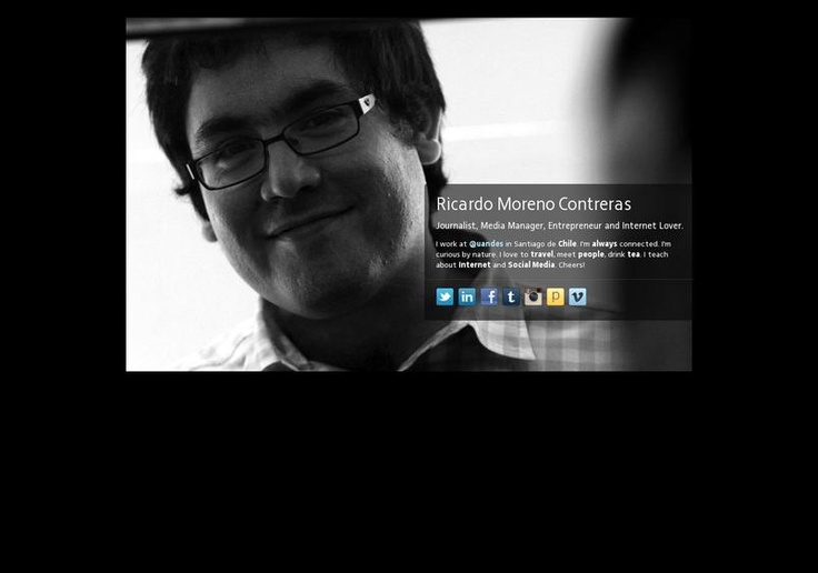 Ricardo  Moreno Contreras' page on about.me – http://about.me/ricardomoreno