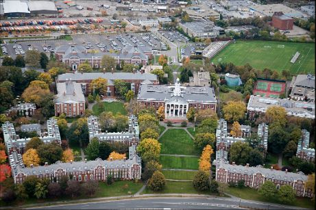 Harvard University is the main attraction in Cambridge
